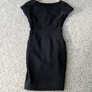 Size 2 Rachel Roy Black Sheath dress